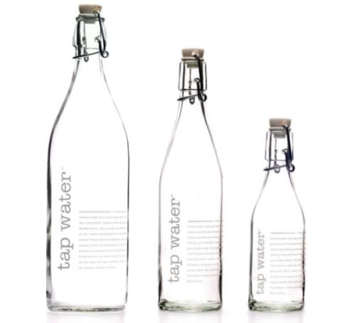 Water Bottle Quarter Prank: Glass Water Bottle